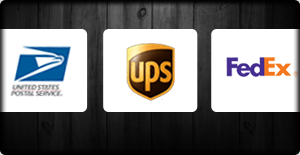 integrated with USPS, UPS and FedEx